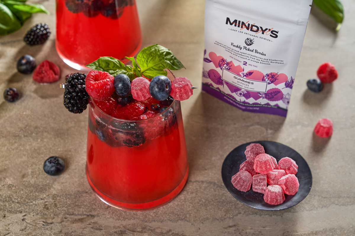 Mixed Berry Spritzer