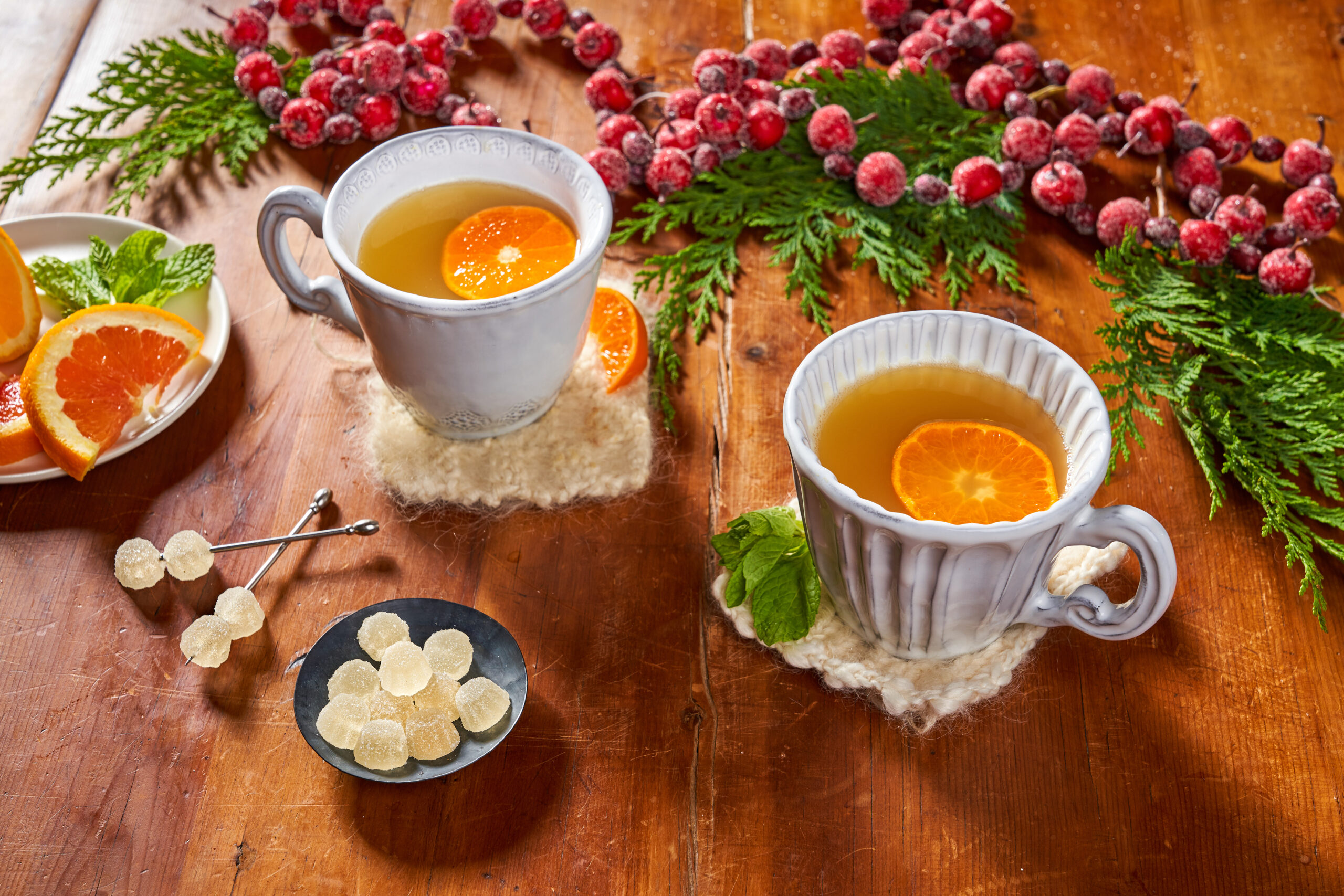 Botanical Citrus Non-Alcoholic Hot Toddy