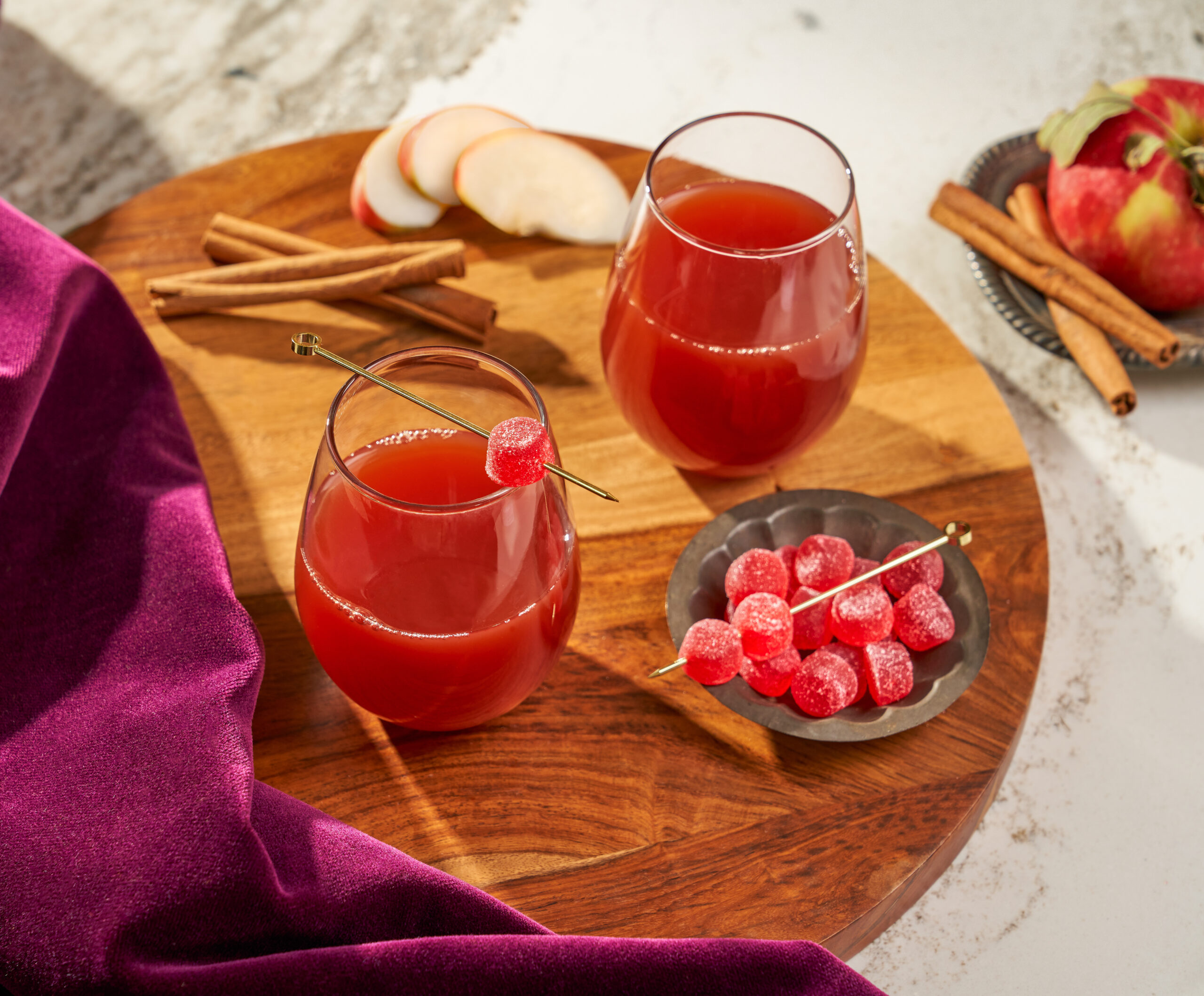 Mulled Cherry Non-Alcoholic Cider